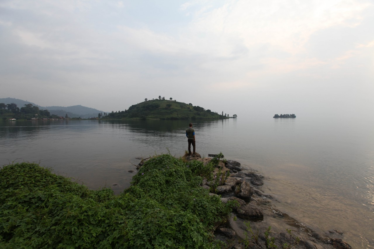 At Lake Kivu