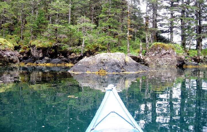 Kayaking is amazing in Alaska