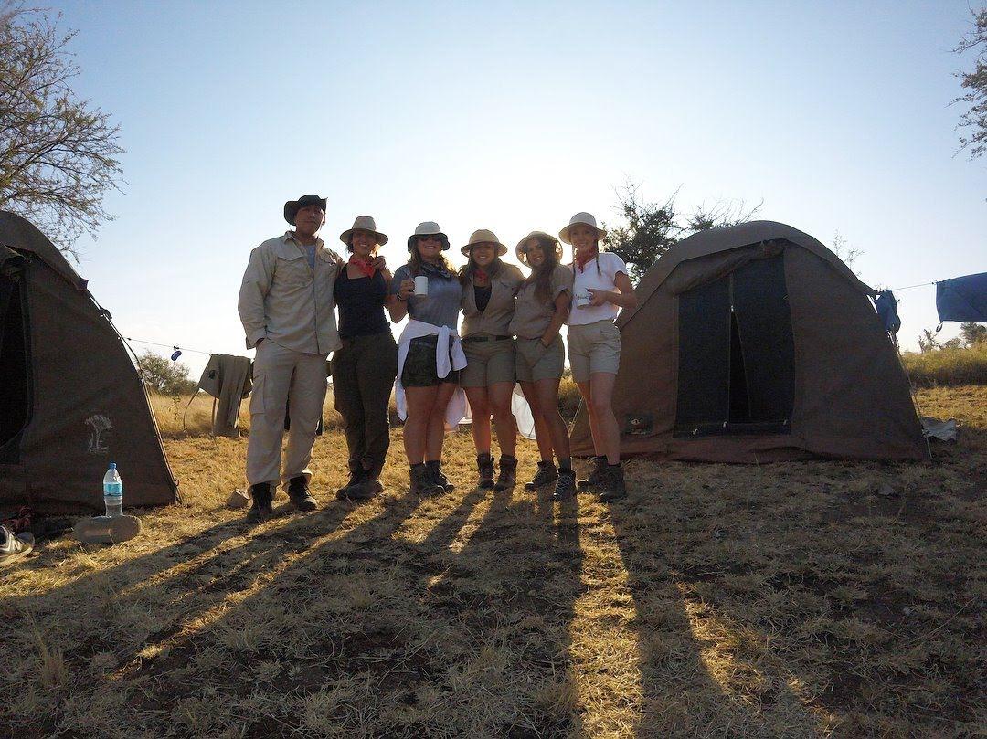 Camping in the Serengeti Safari