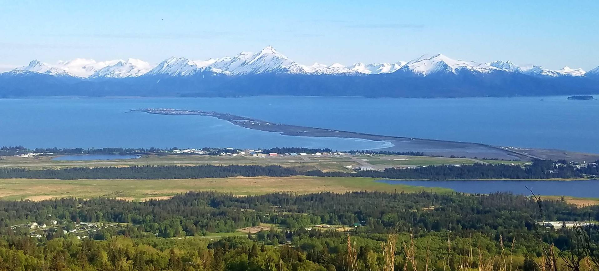 A picture of Homer's Spit, Alaska