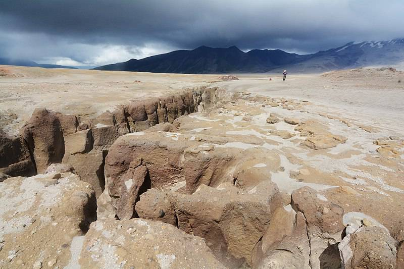 Picture of the Valley of Ten Thousand Smokes in Katmai National Park, Alaska.