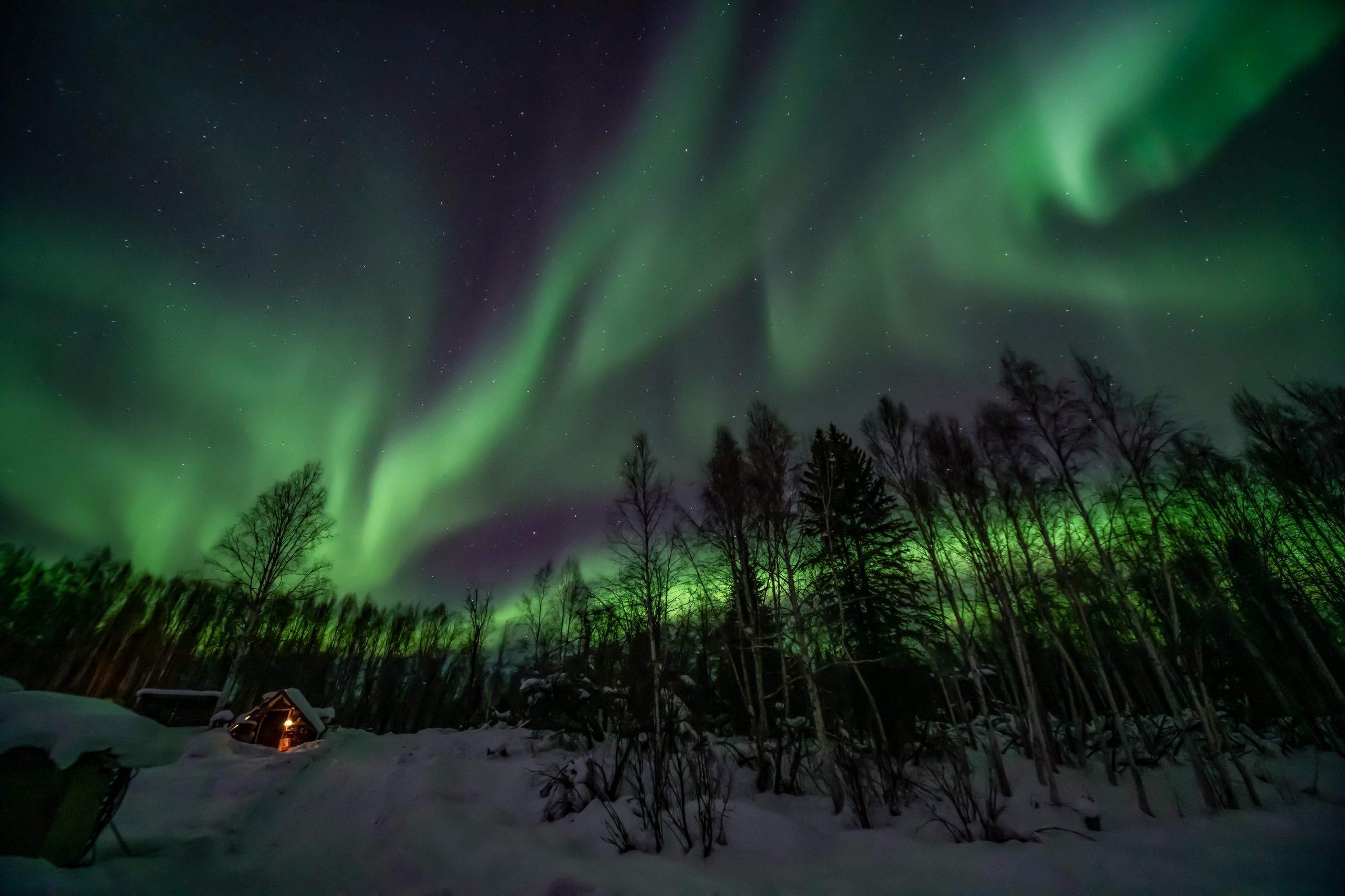 arora borealis alaska best time september