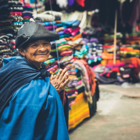 Friendly Faces in Ecuador Shops