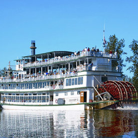 Gold Rush History – Vintage Steamboat in Fairbanks