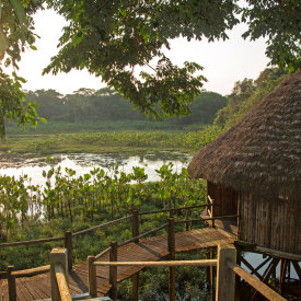 The award-winning Kapawi Ecolodge